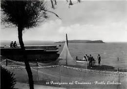 Gd Format: Env 15cms X 10cms -ref 243- Italie - Italia - Italy- Passignano Sul Trasimeno - Pontile D Imbarco - - Italy