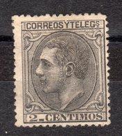 ESPAGNE - N°  183 -   Y&T - * - Sans Gomme - - 1875-1882 Kingdom: Alphonse XII