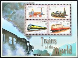 Gambia 2003**Mi.5112-15 Trains Of The World , MNH [5;51] - Treinen