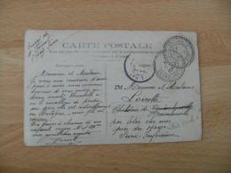1907 Cachet Perle Etainhus Facteur Boitier Obliteration Sur Lettre - Marcofilie (Brieven)