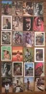 Lot De 24 Cartes Postales / Personnages D' AFRIQUE /a - Non Classés