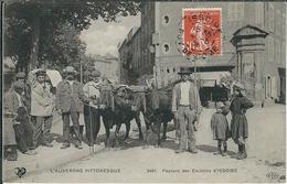 Puy De Dome : Issoire, Environs, Paysans... Belle Carte Animée... - Issoire