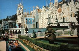 Disneyland 4 Cartes Du Parc De Disneyland  Voiture Château Éléphant, Et Bateau - Disneyland
