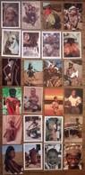 Lot De 24 Cartes Postales / Personnages D' AFRIQUE /c - Postcards