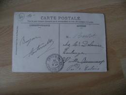 Cachet Perle Wailly Beaucamp Facteur Boitier Obliteration Sur Lettre - Marcofilie (Brieven)