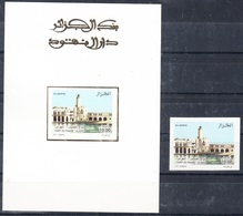 2005- Epreuve De Luxe Et Timbre Non Dentelé N°Yvert 1418-Fort Du Phare à Alger - Algeria (1962-...)