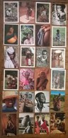 Lot De 24 Cartes Postales / Personnages D' AFRIQUE /d - Postcards