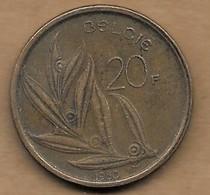 20 Francs 1980 FL - 07. 20 Francs