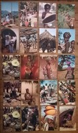 Lot De 20 Cartes Postales / Personnages D' AFRIQUE EN COULEURS /a - Non Classés