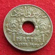 Syria 1 Piastre 1935 KM# 71 Siria Syrie - Syrie