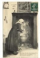 Carte Postale Ancienne Scènes Du Berry - Des Choux, Des Rav's, Des Poumes D'terre - Cuisine - France