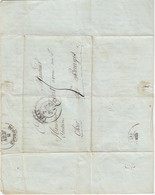 Marcoussis   Marquis De Salperwick Cachet Linas 6 Juin 1837 Lettre Très Importante - Documents Historiques
