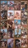 Lot De 20 Cartes Postales / Personnages D' AFRIQUE EN COULEURS /c - Non Classés