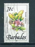 1989 Barbados Flowers,plants,fleurs Used/gebruikt/oblitere - Barbados (1966-...)