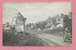62 - VIMY - Carte Photo Allemande - Ruines - Guerre 14/18 - Non Classés