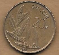 20 Francs 1993 FL - 07. 20 Francs