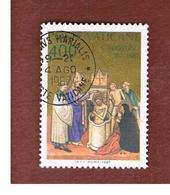 VATICANO - VATICAN - UNIF. 803  - 1987  SANT' AGOSTINO: BATTESIMO    - (USED°) - Vatican