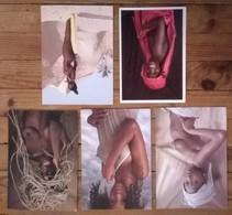 Lot De 5 Cartes Postales / AFRIQUE / Photographe UWE OMMER - Non Classés
