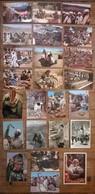 Lot De 24 Cartes Postales / Personnages D' AFRIQUE / MAROC - Maroc