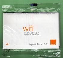 ORANGE *** CARTE WIFI 2H - 10€ *** NSB *** (BO-01) - Kaarten Voor De Telefooncel (herlaadbaar)