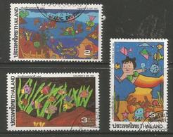 Thailand - 1992 World Under The Sea CTO   Sc 1434-6 - Thailand