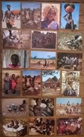 Lot De 20 Cartes Postales / Personnages D' AFRIQUE / TCHAD - Chad
