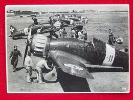 CACCIA MACCHI C 200  Cartolina Originale Dell'epoca Inviata A MARIO CASTOLDI - 1939-1945: 2ème Guerre
