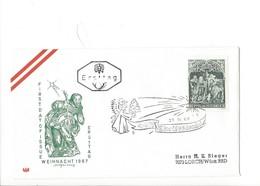21153 - Christkindl 1967 Lettre / Cower Pour Lorch BRD  27.11.1967 Ersttag - Noël