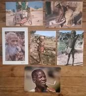 Lot De 6 Cartes Postales / Personnages D' AFRIQUE / CAMEROUN - Cameroun