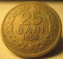 ROMANIA 25 BANI 1953 KM# 85.2 - Romania