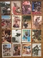Lot De 32 Cartes Postales / Personnages D' AFRIQUE / SENEGAL - Sénégal