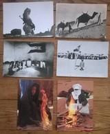Lot De 7 Cartes Postales / Personnages D' AFRIQUE / SAHARA - Sahara Occidental