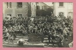 67 - SAINT BLAISE - Carte Photo - Prisonniers Français BAN De SAPT - Soldats Allemands - Vallée Bruche - Guerre 14/18 - Non Classificati