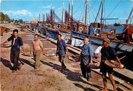 Gd Format: Env 15cms X 10cms -ref 466-espagne -espana -spain - Los Pescadores- Peche -arrivee Des Pecheurs - - Espagne