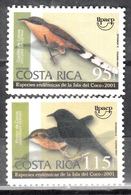 COSTA RICA- 2001 BIRDS- SET- MNH **** - Costa Rica