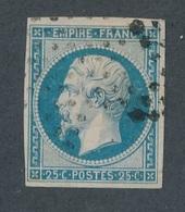 CI-9: FRANCE: Lot Avec N°15 Obl ( Légers Clairs Et Petits Défauts) - 1853-1860 Napoléon III
