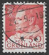 Greenland SG57a 1965 Definitive 50ö Good/fine Used [39/31719/6D] - Greenland