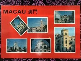 MACAU CHURCHES PPC, PRIVATE PRINTING - Chine