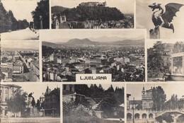 Postcard LjUBLjANA Slovenia Slovenija Yugoslavia 1953 - Slovénie