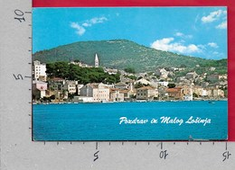 CARTOLINA VG JUGOSLAVIA - Pozdrav Iz MALOG LOSINJA - 10 X 15 - ANN. 198? - Yougoslavie