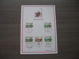 "BELG.1971 1571 & 1572 FDC Filateliacard  "" Philanthropique - Abbaye - Béguinage/ Filantropische Uitgifte - Abdij - Begij - Cartes Souvenir"