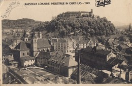 Postcard LjUBLjANA ZAFOS RAZSTAVA 1949 Slovenia Slovenija Yugoslavia - Slovénie