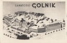 Postcard GOLNIK Sanatorij Slovenia Slovenija Yugoslavia - Slovénie