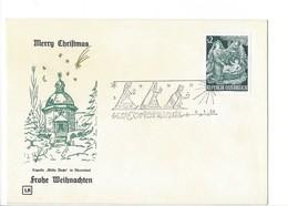 21156 - Christkindl 1966 Lettre  06.01.1966  Kapelle Stille Nacht In Oberndorf - Noël