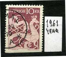 SVEZIA - SVERIGE - Year 1961 - Usato - Used - Utilisè - Gebraucht.- - Svezia