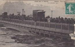 Paris - Crue De La Seine - Paris - Pont Sully - Le 17 Janvier 1910 - Inondations De 1910