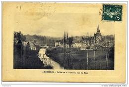 """Cachet Perlé Facteur Boitier """"DESERTINES MAYENNE 1912""""  Indice=4 Sur Cp Ambrières - Poststempel (Briefe)"""