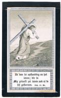 Dp: Zuster Dominica - De Pooter Maria.° Hemixem 1833 † Rumpst 1898  (2 Scan's) - Godsdienst & Esoterisme