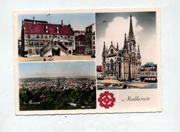 Carte Mulhouse Multi-vue Cachet Foire 1957 Sur Carré Terrillon - Mulhouse
