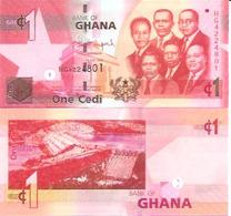 Ghana  P-37  1 Cedis  2015   UNC - Ghana